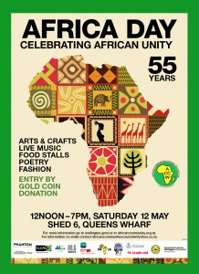 AFRICA DAY 2018 Poster green
